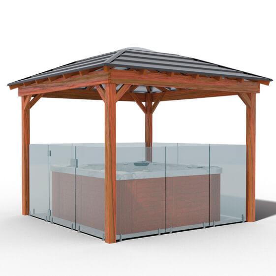 Layabout Pool Gazebo