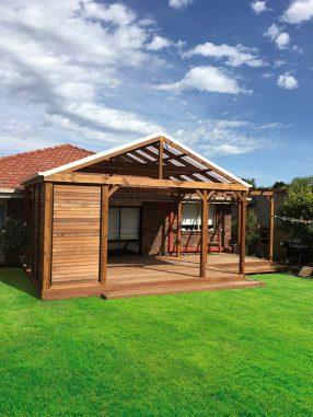 Custom Timber Gazebo Pergola Backyard