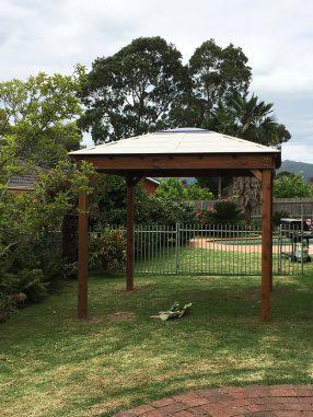 Timber Layabout Gazebo Backyard